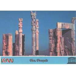 کارت پستال ایرانی - آثار ملی ثبت شده در یونسکو - پرسپولیس - فارس