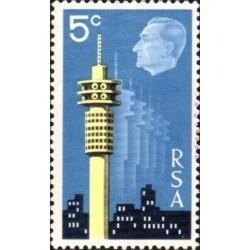 1 عدد تمبر نمایشگاه تمبر اینتراستکس - کیپ تاون - آفریقای جنوبی 1971