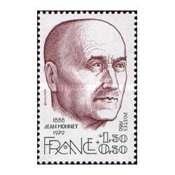 1 عدد تمبر ژان مونت - سیاستمدار و دیپلمات - فرانسه 1980