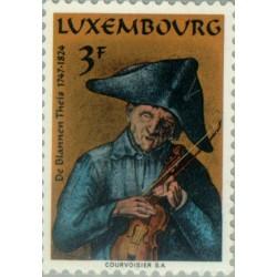 1 عدد تمبر 150مین سالگرد مرگ تئیس نابینا - لوگزامبورگ 1974