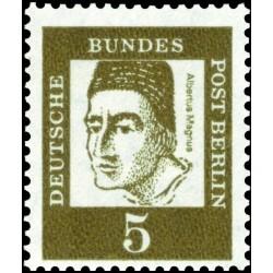 1 عدد تمبر از سری پستی مشاهیر  - 5 - برلین آلمان 1961