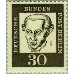 1 عدد تمبر از سری پستی مشاهیر  - 30 - برلین آلمان 1961
