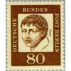 1 عدد تمبر از سری پستی مشاهیر  - 80 - برلین آلمان 1961 قیمت 4.48 دلار