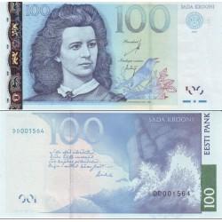 اسکناس 100 کرون - استونی 2007