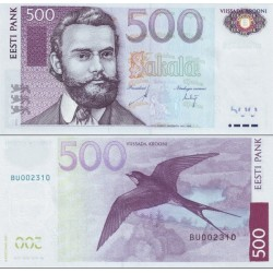 اسکناس 500 کرون - استونی 2007