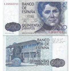 اسکناس 500 پزوتا - اسپانیا 1979 سفارشی - توضیحات را ببینید