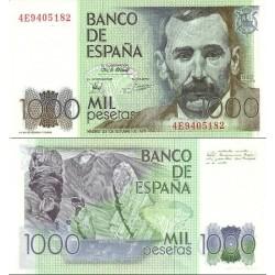 اسکناس 1000 پزوتا - اسپانیا 1979 سفارشی - توضیحات را ببینید