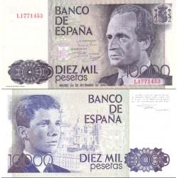 اسکناس 10000 پزوتا - اسپانیا 1985 سفارشی - توضیحات را ببینید