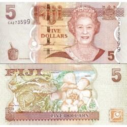 اسکناس 5 دلار - فیجی 2007