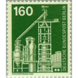 1 عدد تمبر سری پستی - صنایع و تکنیک - 160 فنیک - برلین آلمان 1975