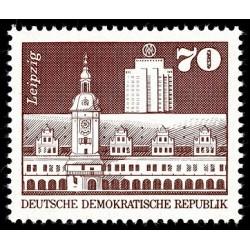 1 عدد تمبر سری پستی -ساختمانها -  70 فنیک - جمهوری دموکراتیک آلمان 1973