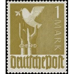 1 عدد تمبر سری پستی - 1 مارک - منطقه تحت اشغال مشترک آلمان 1947