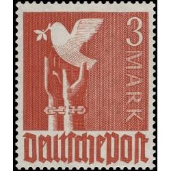 1 عدد تمبر سری پستی - 3 مارک - منطقه تحت اشغال مشترک آلمان 1947
