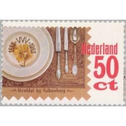 1 عدد تمبر صدمین سال انجمن توریست - هلند 1985