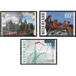 3 عدد تمبر سالگردها - هلند 1985