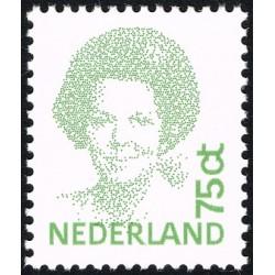 1 عدد تمبر سری پستی - ملکه بئاتریکس - نسخه جدید  - هلند 1991 قیمت 1.6 دلار