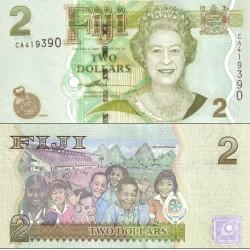 اسکناس 2 دلار - فیجی 2007