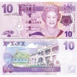 اسکناس 10 دلار - فیجی 2007