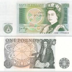 اسکناس 1 پوند - انگلیس 1978