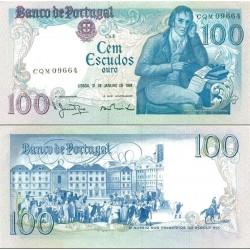 اسکناس 100 اسکودو - پرتغال 1984         PickNo178c(3)