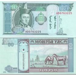 اسکناس 10 تغریک - مغولستان 2002