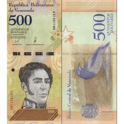 اسکناس 500 بولیوار - ونزوئلا 2018  تاریخ    15.01.2018