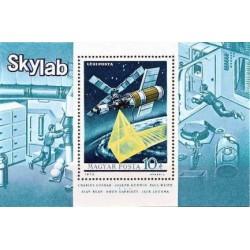 مینی شیت ایستگاه فضائی اسکای لب - مجارستان 1973 قیمت 5.6 دلار