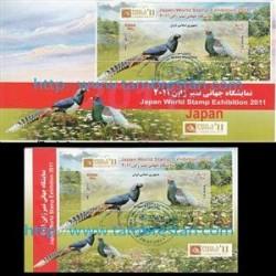 پاکت مهر روز و کارت پستال نمایشگاه تمبر ژاپن