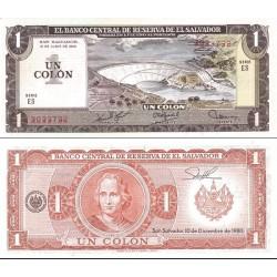 اسکناس 1 کولون - السالوادور 1980 تاریخ 19.06.1980