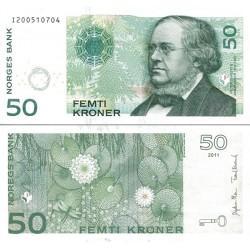 اسکناس 50 کرون - نروژ 2011