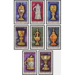 8 عدد تمبر هنر گلداشمیت - مجارستان 1970 قیمت 4.5 دلار