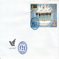 پاکت مهر روز تیم ملی والیبال 1391
