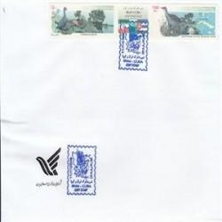 پاکت مهر روز ایران و کوبا 88