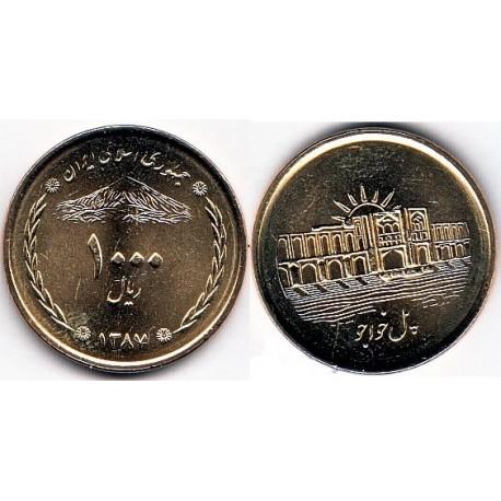 سکه  1000 ریالی - برنز - جمهوری اسلامی 1387 بانکی