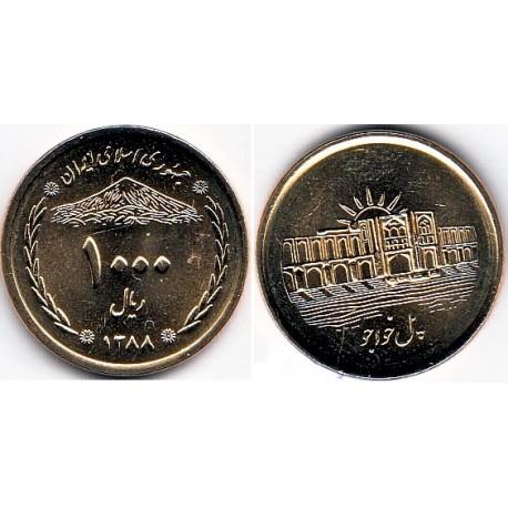سکه  1000 ریالی - برنز - جمهوری اسلامی 1388 بانکی