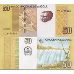 اسکناس 50 کوانزا - آنگولا 2012