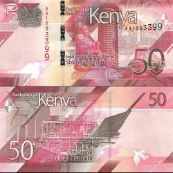 اسکناس 50 شیلینگ - کنیا 2019