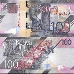 اسکناس 100 شیلینگ - کنیا 2019