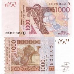 اسکناس 1000 فرانک - بنین 2003
