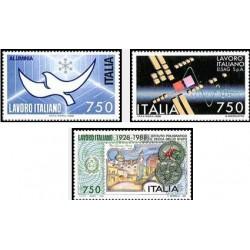 3 عدد تمبر صنایع ایتالیائی - ایتالیا 1988 قیمت 3.3 دلار
