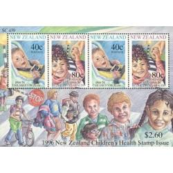 مینی شیت نمایشگاه تمبر کاپکس - سلامت کودکان - نیوزلند 1996 ارزش روی شیت 2.6 دلار