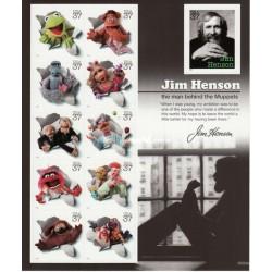 مینی شیت جیم هسون و موپت ها - بازیگر و برنده جایزه امی - خودچسب  -آمریکا 2005 قیمت 9 دلار