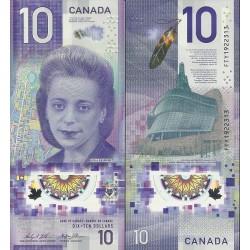 اسکناس پلیمر 10 دلار - کانادا 2018
