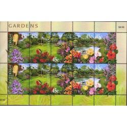 مینی شیت نمایشگاه بین المللی گل و گیاه  - استرالیا 2000 ارزش روی شیت 4.5 دلار استرالیا