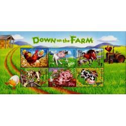 مینی شیت در مزرعه  - استرالیا 2005 ارزش روی شیت 3.5 دلار استرالیا