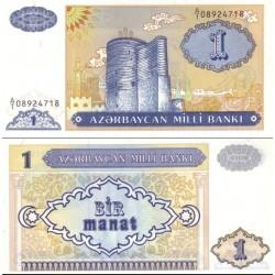 اسکناس 1 منات - آذربایجان 1993
