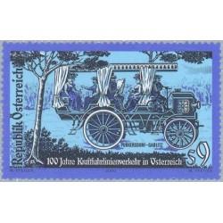 1 عدد تمبر صدمین سالگرد افتتاح اولین بزرگراه اتریش - اتریش 2000