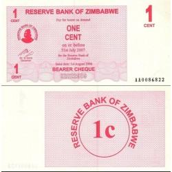 اسکناس 1 دلاری - زیمباوه 2007