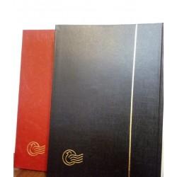 آلبوم تمبر 10 برگ ایرانی سایز بزرگ با ابعاد 21.5x31 - ورق مشکی