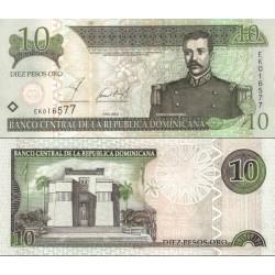 اسکناس 10 پزو - جمهوری دومنیکن 2002